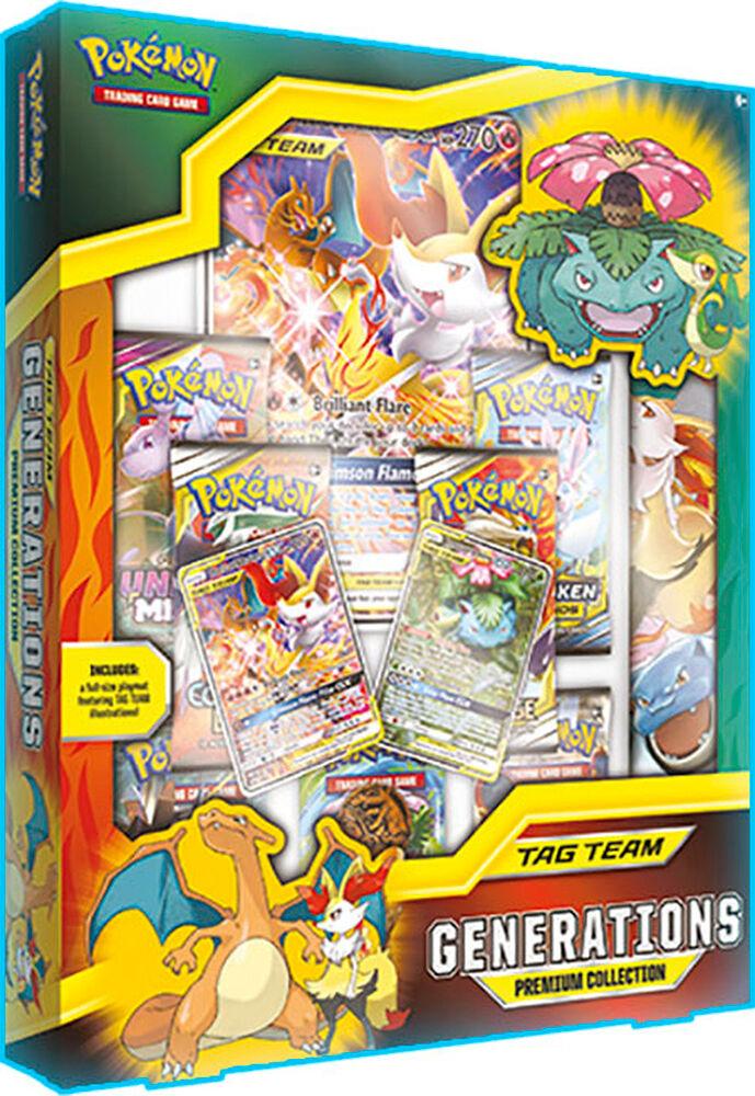 Pokemon Tag Team Generations Prem. Coll. Premium Collection