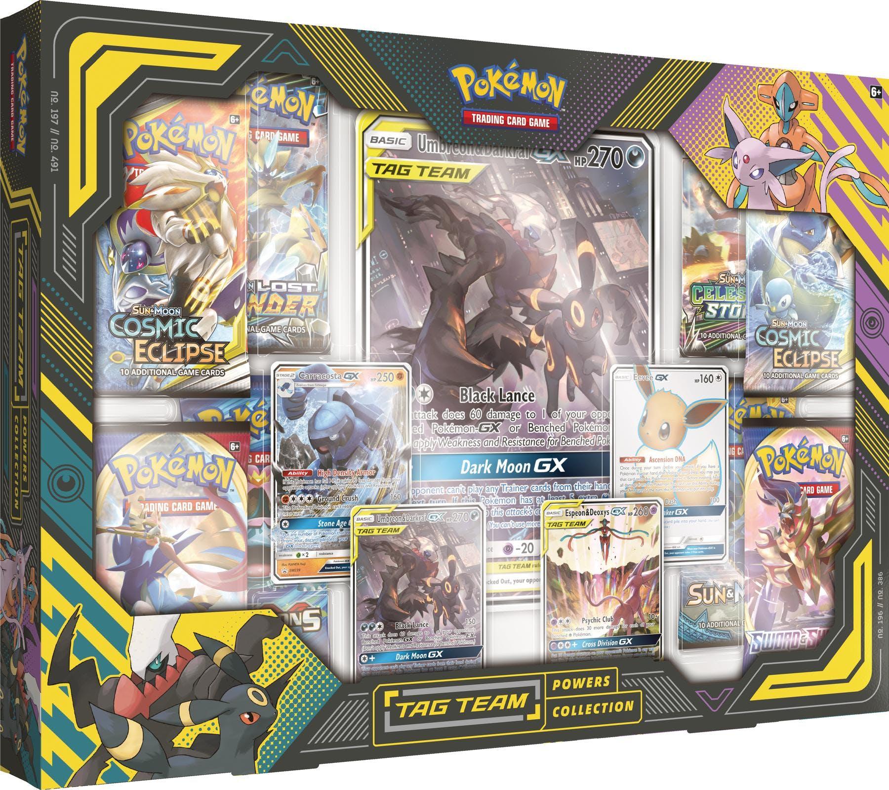 Pokemon Tag Team Umbreon/Darkrai Powers Collection