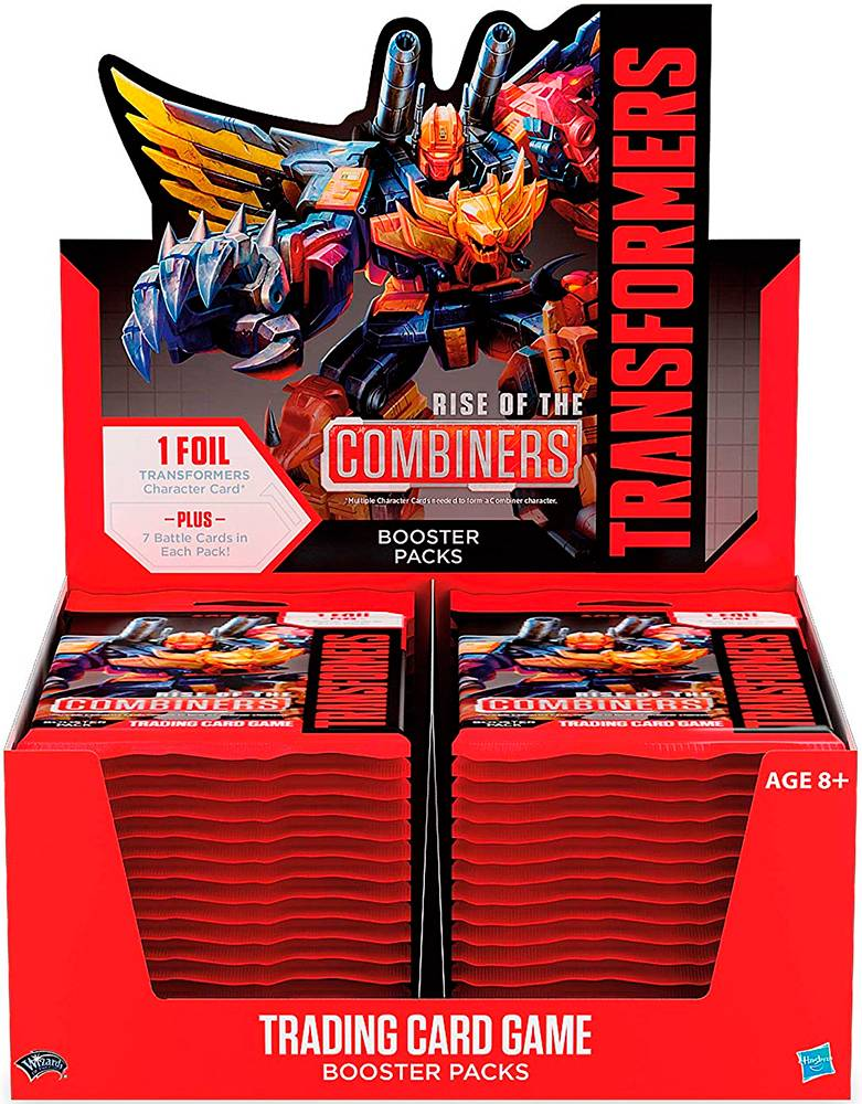 Transformers TCG Combiners Display Trading Card Game - 30 boosterpakker