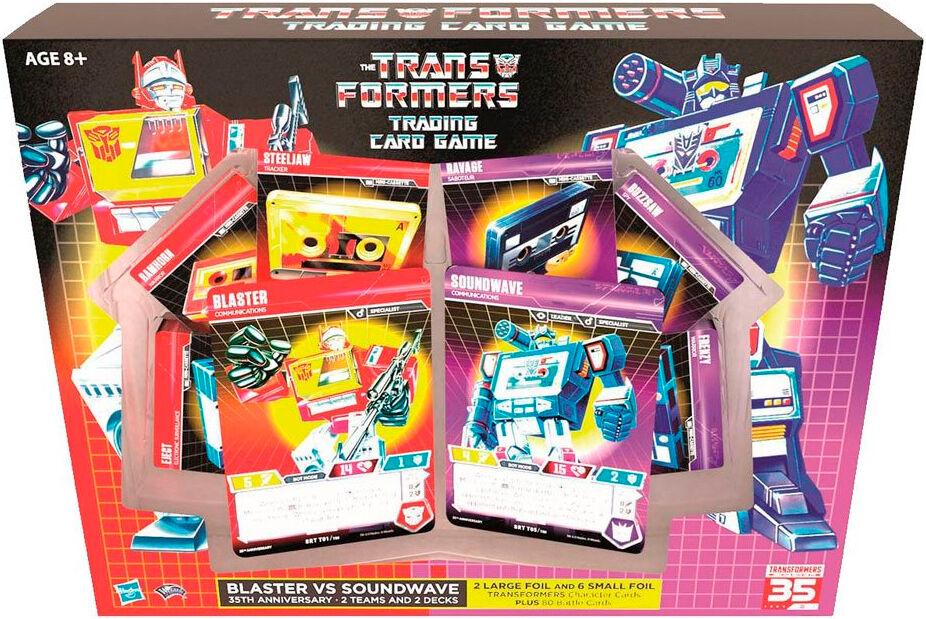 Transformers TCG Blaster/Soundwave Anniv Trading Card Game - 35th Anniversary
