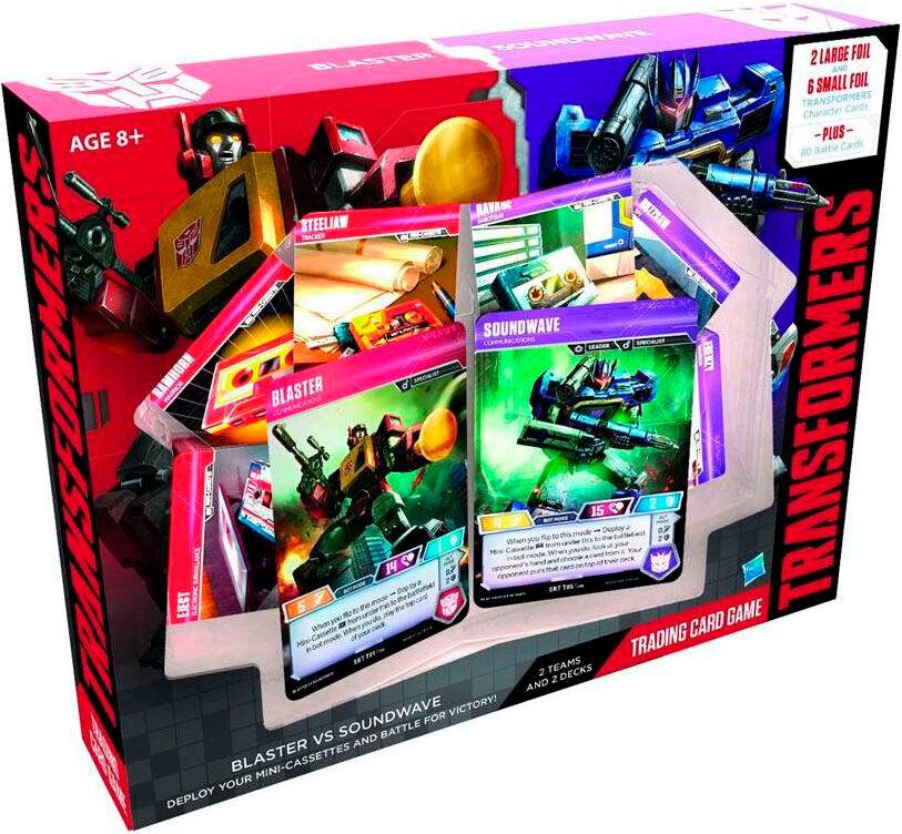 Transformers TCG Blaster/Soundwave Trading Card Game - vs Deck