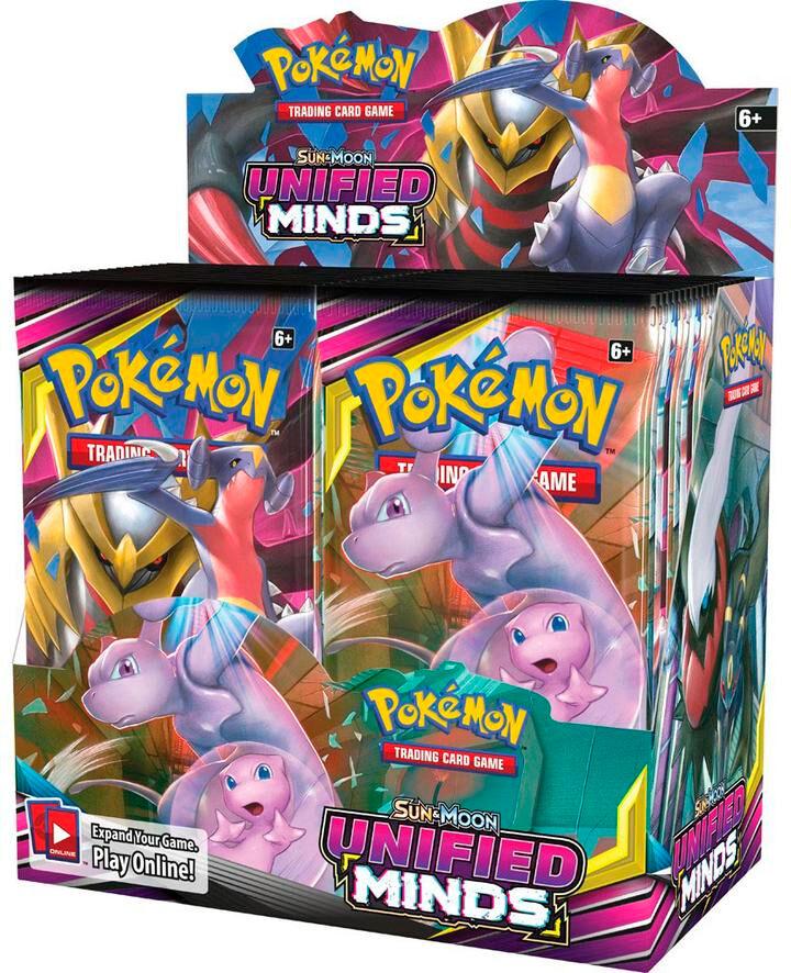 Pokemon Unified Minds Display 36 boosterpakker á 10 kort pr pakke