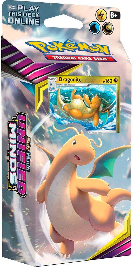 Pokemon Unified Minds Theme Dragonite Sun & Moon 11 Theme Deck