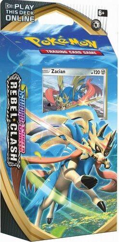 Pokemon Rebel Clash Theme Deck Zacian Sword & Shield 2