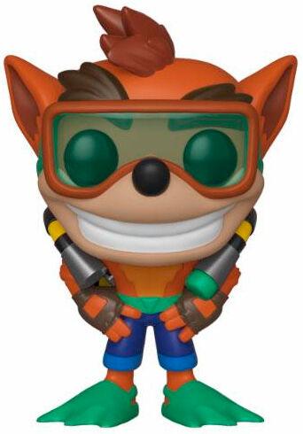 Crash Bandicoot POP Figur Crash 9 cm Scuba Edition