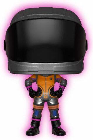 Vanguard Fortnite POP Figur Dark Vanguard GITD Ed Glow in the Dark Edition - 9 cm
