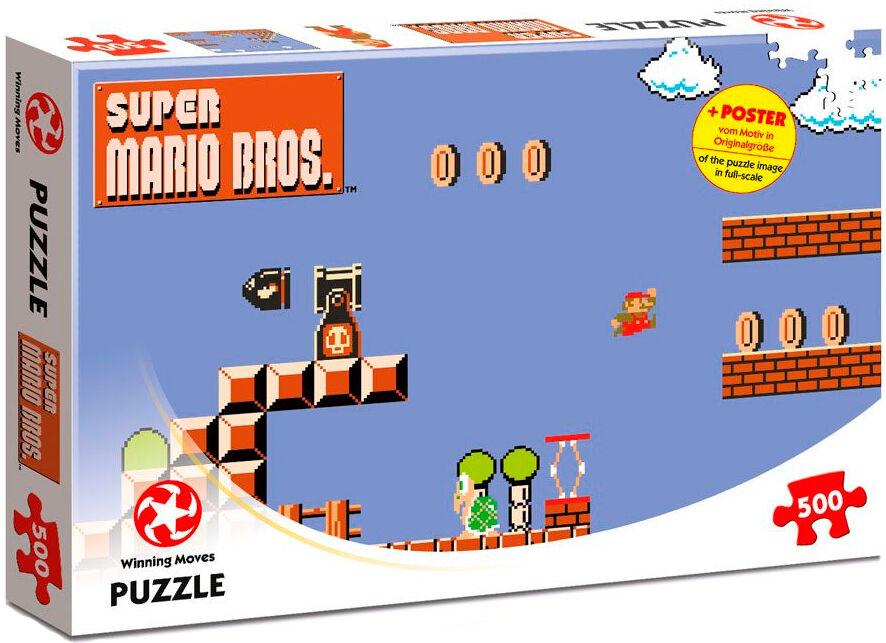 Super Mario Puslespill High Jumper 360 biter - Med plakat