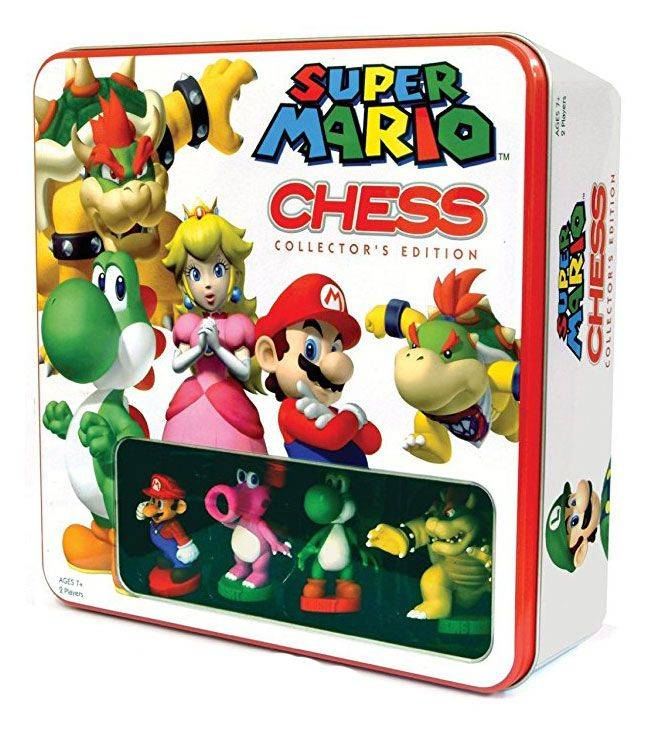 Super Mario Chess Sjakk Collectors Edition