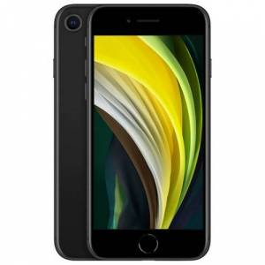 Apple iPhone SE mobiltelefon 128 GB black for kun 298,- pr. mnd. ( SE 128GB BLACK )