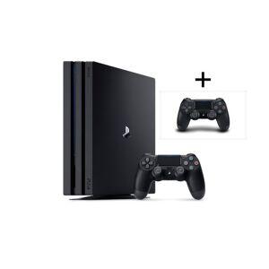 PS4 PlayStation 4 Pro - 1 TB, ekstra håndkontroller for kun 258,- pr. mnd. ( PRO 1000GB BUNDLE )