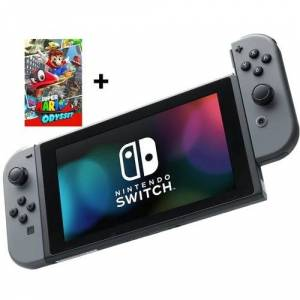 Nintendo Switch + Super Mario Odyssey for kun 218,- pr. mnd. ( SWITCH BUNDLE )