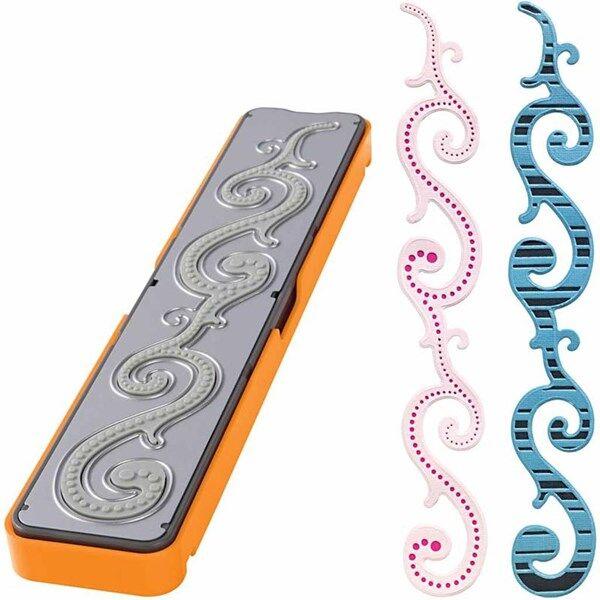 Fuse® - Designsett, str. 30x4,5  cm, bølgeborder, 1stk. (Z000000696)