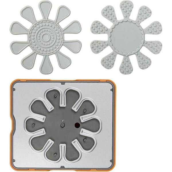 Fuse® - Designsett, str. 10x12  cm, blomst, 1stk. (Z000000694)