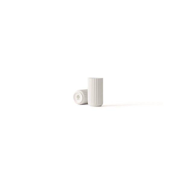 Vase, H 12 cm, Hvit, Lyngby (Z000049918)