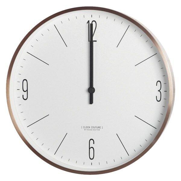 House Doctor Clock Couture Väggklocka 30 cm Guld/Vit (Z000144783)
