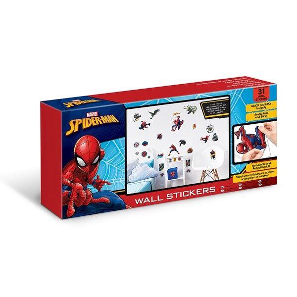 Väggdekorationer, Spiderman, Walltastic (Z000093327)