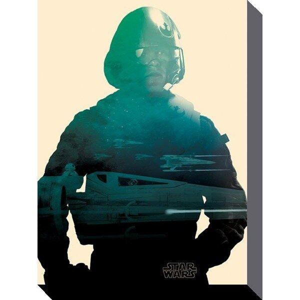 Star Wars Canvas Poe 60 X 80 Cm (Z000111814)