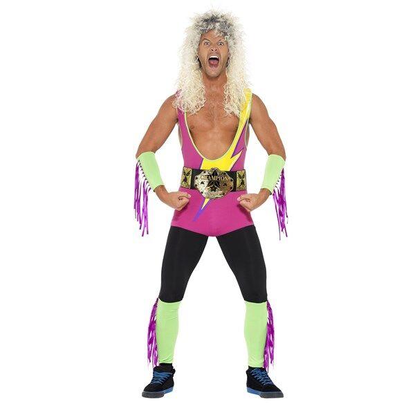 Retro Wrestler Kostyme (Z000120913)