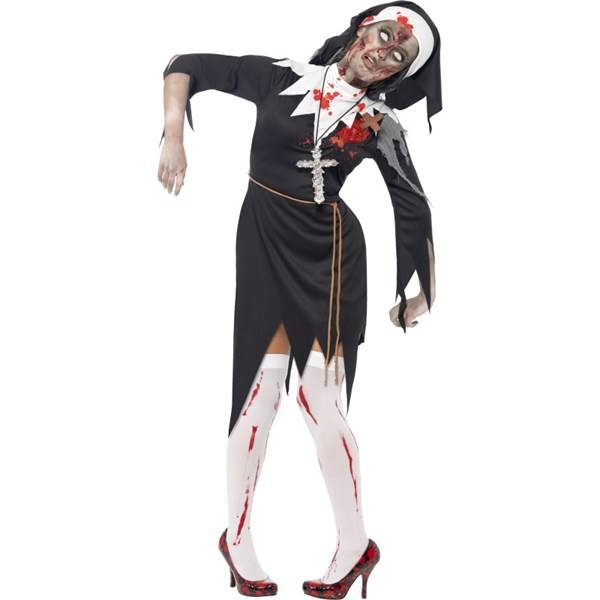 ZOMBIE BLOODY SISTER MARY COSTUME (Z000111951)