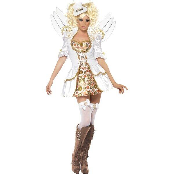 FEVER STEAM PUNK VICTORIAN CLOCKWORK ANGEL COSTUME (Z000112057)