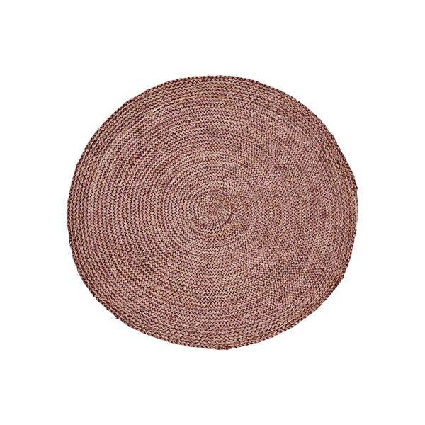 House Doctor Structure Matta 100% Jute D: 100 cm Henna (Z000143661)