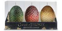 Dragon Game of Thrones: Sculpted Dragon Egg Candles (1682983218)