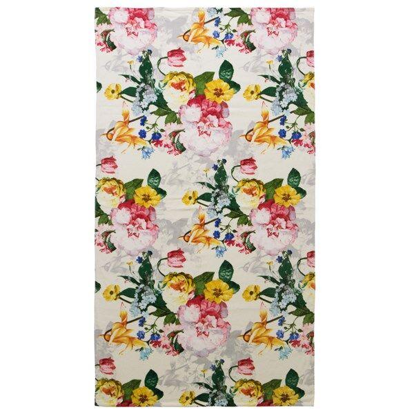 Essenza Home Fleur Strandhåndkle Bomulls Velur 100 x 180 cm Ecru (Z000118556)