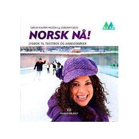 Nilsen, Gølin Kaurin Norsk nå!: lydbok til tekstbok og arbeidsbok (8211021803)