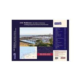 Imray Imray 2150 Waddenzee - Den Helder to Norderney Chart Atlas 2020 (1786791978)