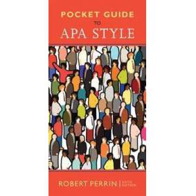 Perrin, Robert Pocket Guide to APA Style, Spiral bound Version (1305969693)