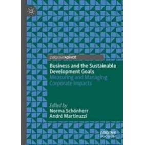 Schonherr, Norma Business and the Sustainable Development Goals (3030168123)