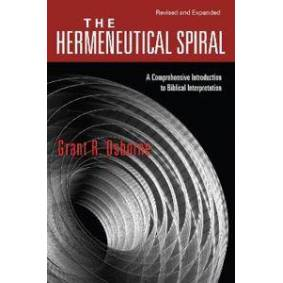 Osborne, Grant R. The Hermeneutical Spiral (0830828265)