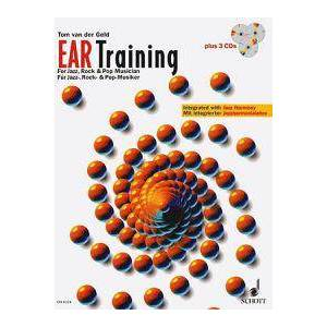 Geld, Tom Van Ear Training - A Complete Course for the Jazz, Rock & Pop Musician: Book/3-CD Pack (3795750962)