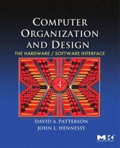 Patterson, David A. Computer Org...