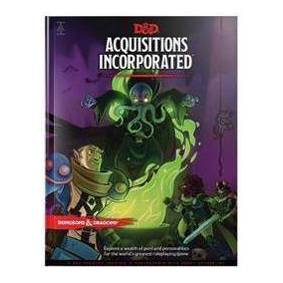 Wizards RPG Team Dungeons & Dragons Acquisitions Incorporated Hc (D&d Campaign Accessory Hardcover Book) (0786966904)