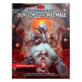 Wizards RPG Team Dungeons & Dragons Waterdeep: Dungeon of the Mad Mage (Adventure Book, D&d Roleplaying Game) (0786966262)