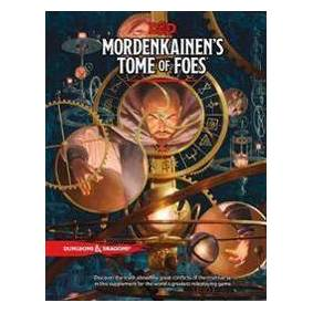 Wizards RPG Team D&D Mordenkainen's Tome of Foes (0786966246)