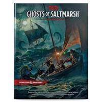 Wizards RPG Team Dungeons & Dragons Ghosts of Saltmarsh Hardcover Book (D&d Adventure) (0786966750)