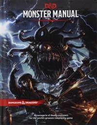 Wizards of the Coast Monster Manual: A Dungeons & Dragons Core Rulebook (0786965614)