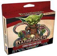Staff, Paizo Pathfinder Condition Card Deck (P2) (1640781781)