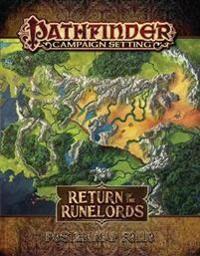 Staff, Paizo Pathfinder Campaign Setting: Return of the Runelords Poster Map Folio (1640781129)