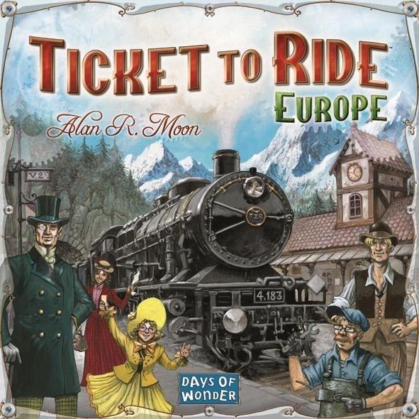 Ticket To Ride, Europe, Brettspill (SE/NO/DK) (Z000040112)