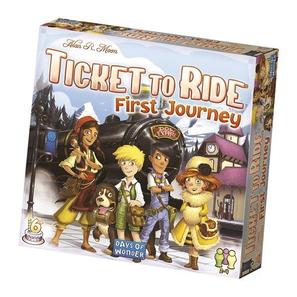 Ticket To Ride, First Journey, Barnespill (SE/FI/NO/DK) (Z000062348)