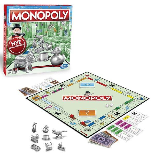 Hasbro HGA Classic Monopoly, Hasbro Games (NO) (Z000067191)