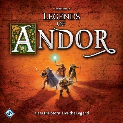 Legends Of Andor, Strategispel (EN) (Z000164474)