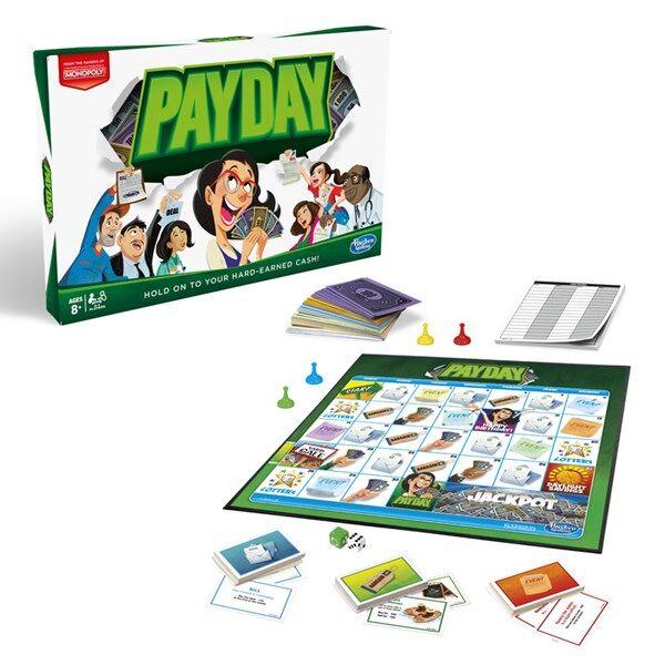 Hasbro Monopoly Payday, Hasbro Gaming (SE) (Z000103901)