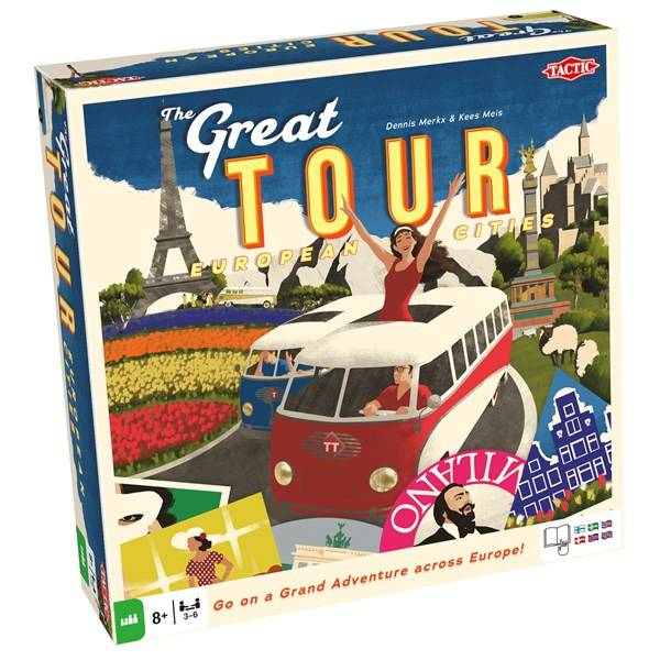 The Great Tour, Familiespill (SE/FI/NO/DK/EN) (Z000140373)