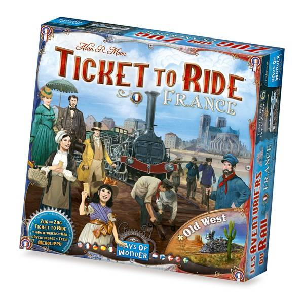 Ticket To Ride, France Expansion, Familiespill (Z000142367)