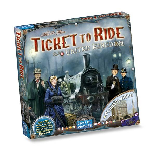 Ticket To Ride, UK Expansion, Familiespill (Z000142365)