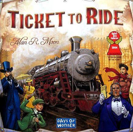 Ticket To Ride, USA, Brettspill (SE/NO/DK) (Z000036040)